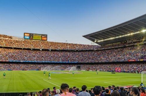 Hinchas del Barcelona