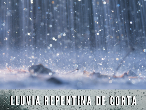 Lluvia repentina de corta duración
