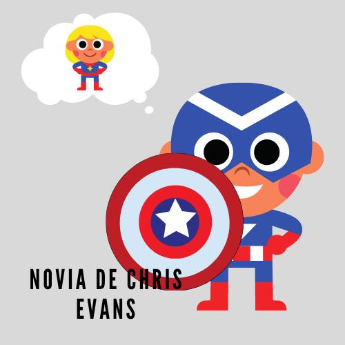 Novia de Chris Evans