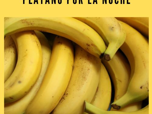 Plátano por la noche