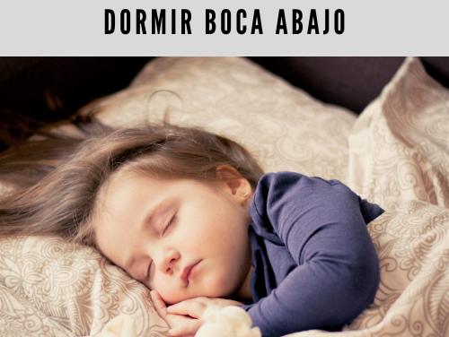 Pueden los bebés dormir boca abajo