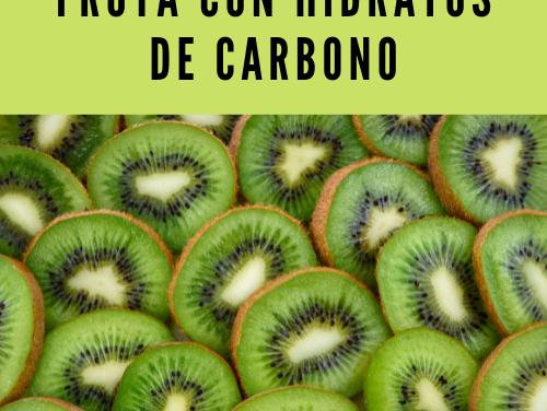 Fruta con hidratos de carbono
